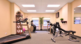 Chateau Saint John Hotel Fitness Room